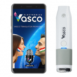 "Vasco Translator Premium 5"" + Scanner"